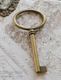 Sleutel groot oog brons