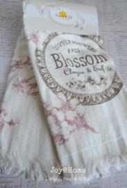 Gastendoekje Blossom Clayre & Eef