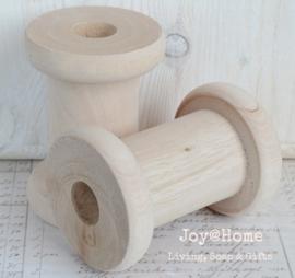 Blank houten klos