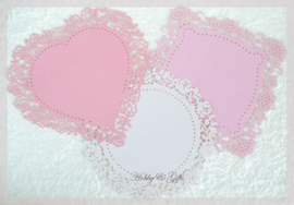 Lace paper, Wild Rose