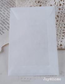 Loonzakje pergamijn