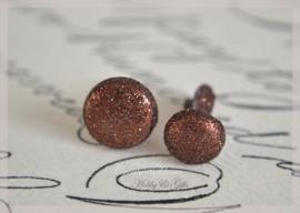 Splitpen glitter, bruin