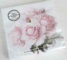 Servetten Vintage roses