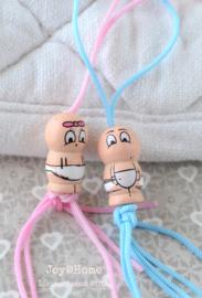 Gelukspoppetje - jongen/meisje baby