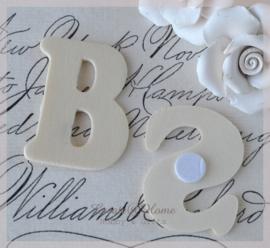 Letters in heel het alfabet, zelfklevend