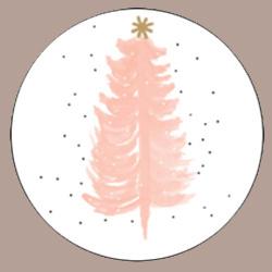 Sticker Kerstboom