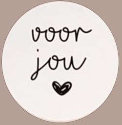 Sticker Voor jou