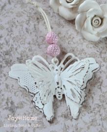 Vlinder met kralen