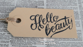 Label Hello Beauty in 4 kleuren