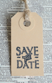 Label Save the Date in 7 kleuren