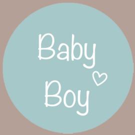 Sticker Baby Boy