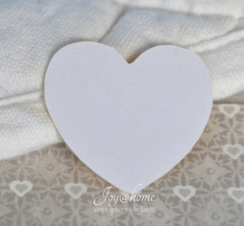 Kraft sticker hartje in 3 kleuren