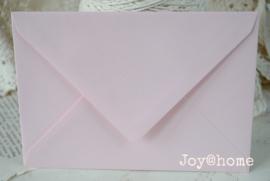 Envelop poederroze C6
