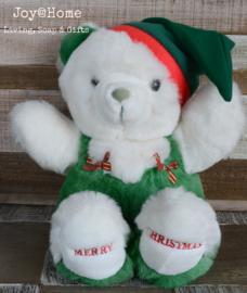 Knuffelbeer Merry Christmas