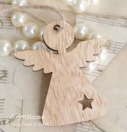 Houten engeltje