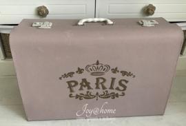 Oude naaimachine koffer