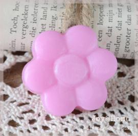Zeepje bloem, roze