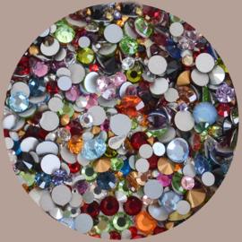 Mix simili en strass/plak steentjes