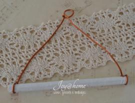 Klosdrager voor touw/lint