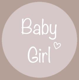Sticker Baby Girl