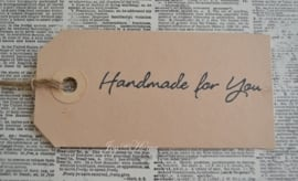 Label Handmade for you in 7 kleuren