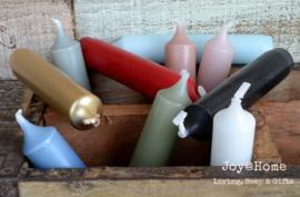Kaarsen in 10 kleuren