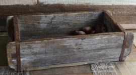 Industriële steenmal van hout