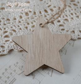 Ster hout, naturel