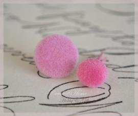 Splitpen stof, roze