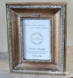 Fotolijstje vintage goud