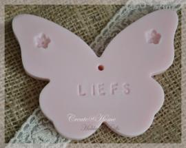 Zeepje vlinder Liefs