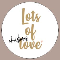 Sticker Lots of Christmas love