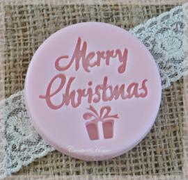 Zeepjes tablet Merry Christmas. Per 3