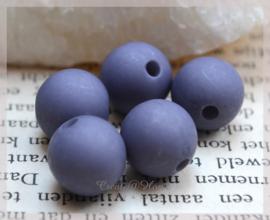 Kralen acryl, paars