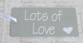 IJzeren tags Lots of Love ?