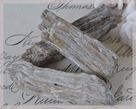 Kralen drijfhout, oud grijs