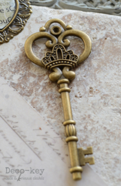 Sleutel vintage brons