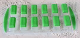 Plastic mal 12 blokjes