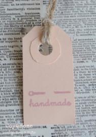 Label Handmade naald in 6 kleuren