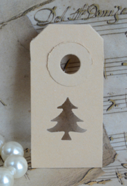 Label kerstboom