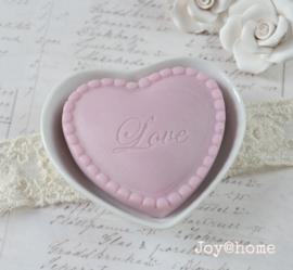 Zeepschaaltje & zeephartje Love