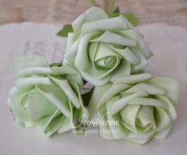 Mintgroene rozen