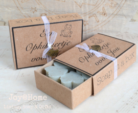 Soap in a box. Een opkikkertje voor jou