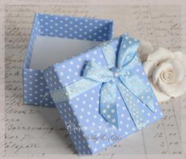 Cadeaudoosje blauw