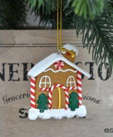 Kersthanger huis met boompje