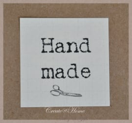 Vintage sticker Handmade