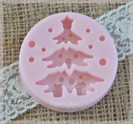 Zeepjes tablet kerstboom. Per 3