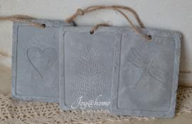 Label van beton, keuze uit 3 afbeeldingen