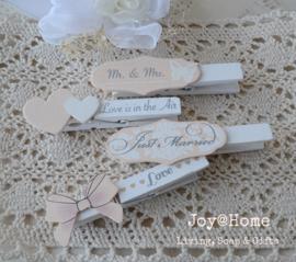 Knijpers bruiloft, keuze uit 4
