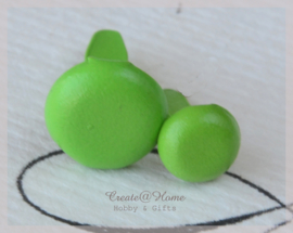 Splitpen, groen